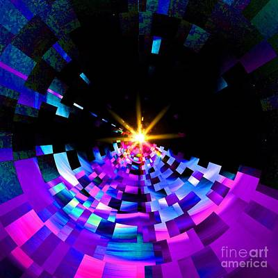 Fragmenting Into Space Original by Blair Stuart