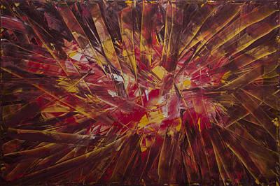 Painting - Fragments Of My Wishes by Siyavush Mammadov