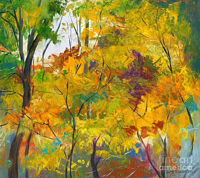 Painting - Fragrance Of Nature by Betty Rubinstein