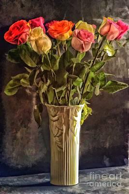 Arnie Goldstein Photograph - Fragrant Flowers by Arnie Goldstein