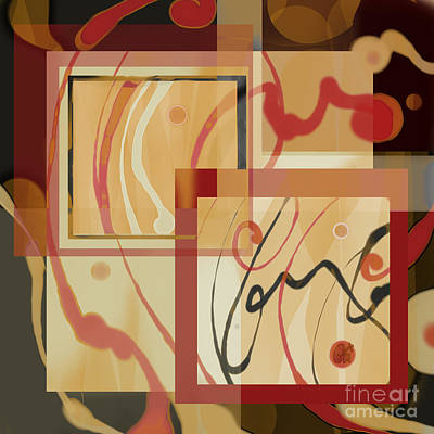Digital Art - Frame-up by Carol Jacobs