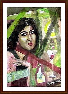 Frame Within Frame Original by Kalyan Bandyopadhyay