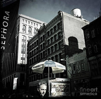 Photograph - Framed - Downtown New York by Miriam Danar