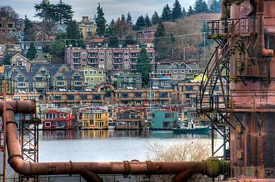 Photograph - Framed In Seattle by Spencer McDonald