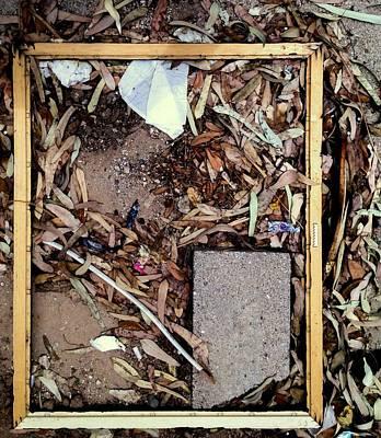 Photograph - Framed by Marlene Burns