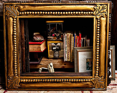 Photograph - Framed Odds And Ends by Christopher Holmes