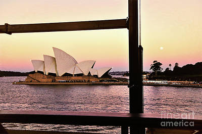 Photograph - Framed Opera House By Kaye Menner by Kaye Menner