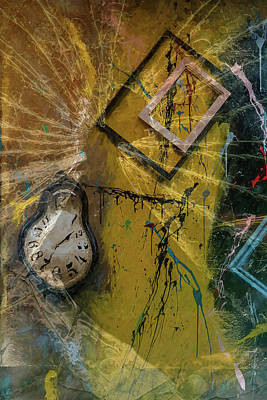 Digital Art - Framed Time by Kevin Blackburn