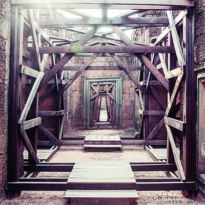 Photograph - Framework by Joseph Westrupp