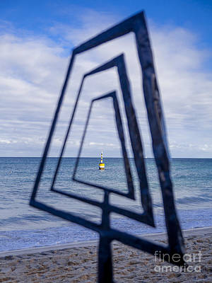 Photograph - Framing A Sculpture by Serene Maisey