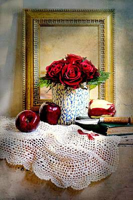 Photograph - Framing Roses by Diana Angstadt