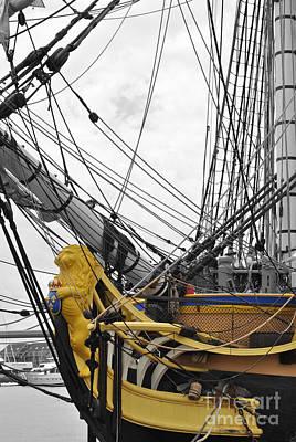 Moet Wall Art - Photograph - Francais Lion Ship by Jost Houk