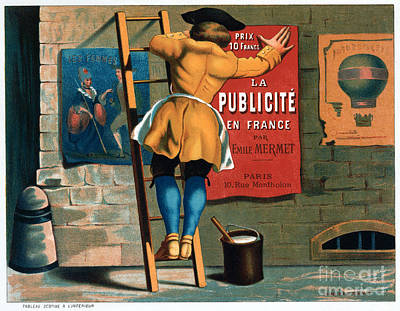 Drawing - France, Advertising, C1885.  by Granger