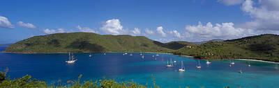 Francis And Maho Bays Virgin Islands Art Print