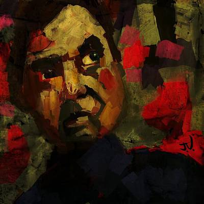 Digital Art - Francis Bacon I by Jim Vance