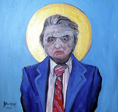 Hockney Painting - Francis Bacon - Icon Of The Twentieth Century by Ray Johnstone