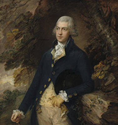 Upper Class Painting - Francis Bassett Lord De Dunstanville And Bassett by Thomas Gainsborough