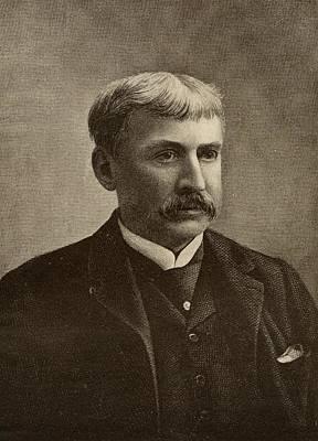 Francis Bret Harte, 1836-1902. American Art Print by Vintage Design Pics