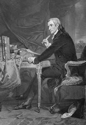 Francis Hopkinson 1737-1791. American Art Print by Vintage Design Pics