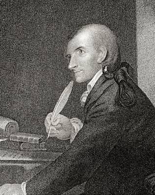 Francis Hopkinson 1737 To 1791 American Art Print by Vintage Design Pics