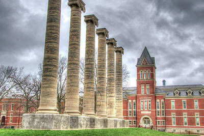 Photograph - Francis Quadrangle by Steve Stuller