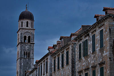 Photograph - Franciscan Monastery Tower - Dubrovnik by Stuart Litoff