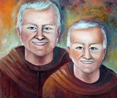 Painting - Franciscans Of Duns Scotus by Bernadette Krupa