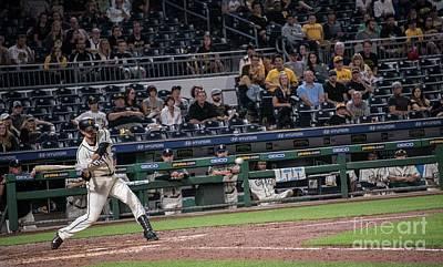 Pennsylvania Baseball Parks Photograph - Francisco Cervelli by David Bearden