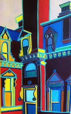 Painting - Franco American School Detail by Debra Bretton Robinson