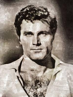 Franco Nero, Vintage Actor Art Print