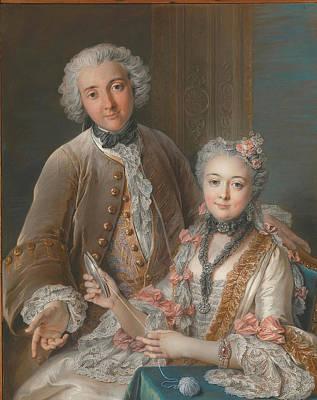 1754 Painting - Francois De Jullienne by Celestial Images