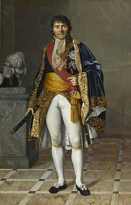 Painting - Francois-joseph Lefebvre Duke Of Dantzig Marshal Of France by Cesarine Davin-Mirvault