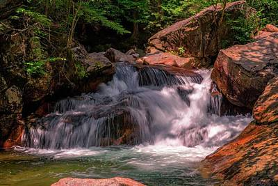 Franconia Notch 2 Art Print by Sherman Perry