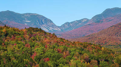Photograph - Franconia Notch Autumn by Chris Whiton