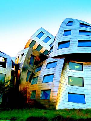 Frank Gehry 3 Art Print by Randall Weidner
