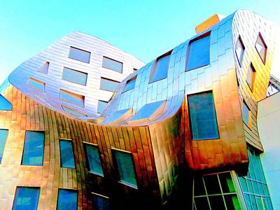 Frank Gehry 9 Art Print by Randall Weidner