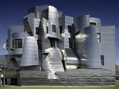 Frank Gehry Designed The Frederick R Art Print by Everett