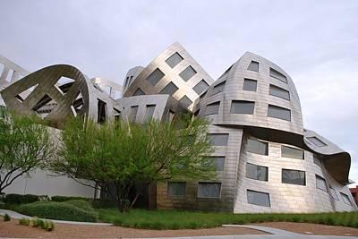 Photograph - Frank Gehry's Lou Ruvo Center Landscaping by Matt Harang
