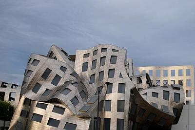 Photograph - Frank Gehry's Lou Ruvo Center by Matt Harang