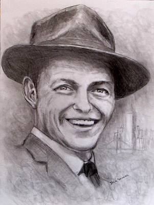 Frank Sinatra Drawing - Frank by Jack Skinner
