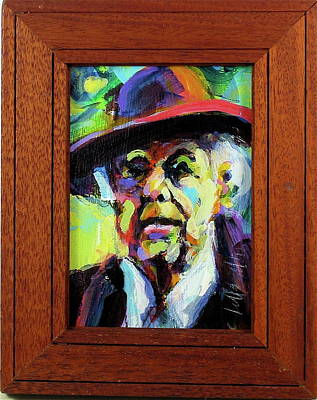 Painting - Frank by Les Leffingwell