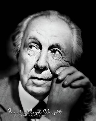 Photograph - Frank Lloyd Wright by Carlos Diaz