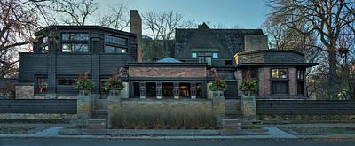 Frank Lloyd Wright Wall Art - Photograph - Frank Lloyd Wright Home And Studio Oak Park Illinois by Steve Gadomski