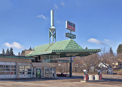 Photograph - Frank Lloyd Wright Service Station  by Susan Rissi Tregoning
