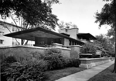 Bsloc Photograph - Frank Lloyd Wright Used Structural by Everett