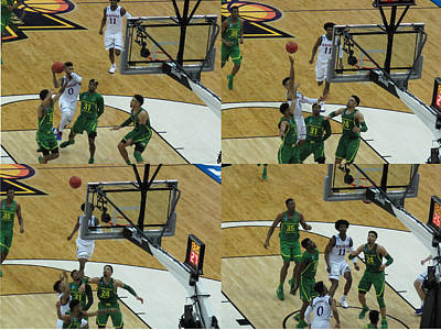 Photograph - Frank Mason Scores by Keith Stokes