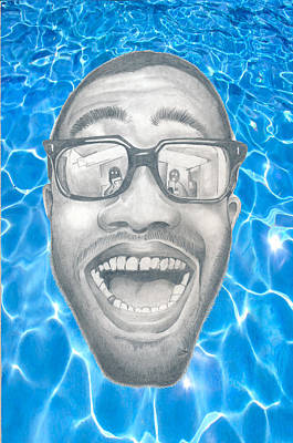 Frank Ocean Drawings Drawing - Frank Ocean by Mercedes Carter-Gomes