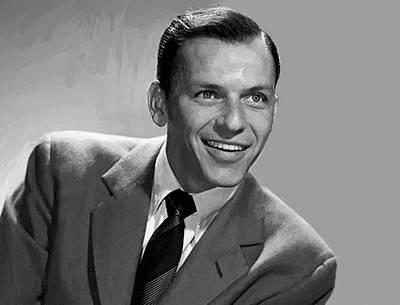Digital Art - Frank Sinatra 16 by Frank Sinatra