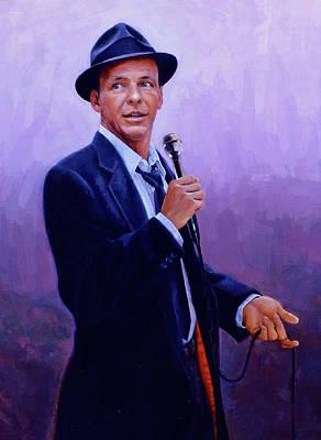 Digital Art - Frank Sinatra 17 by Frank Sinatra