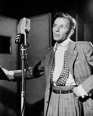 Digital Art - Frank Sinatra 18 by Frank Sinatra